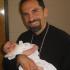Fr. Robert and daughter Anastasia