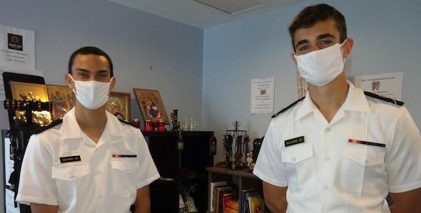 Annapolis College Ministry at USNA continues Despite COVID